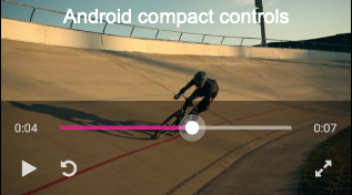 Android compact controls